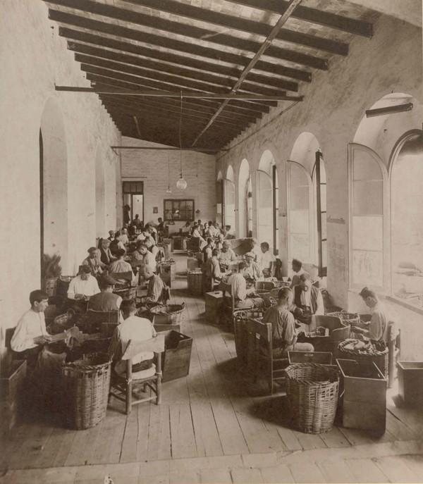 Fàbrica de taps de suro (foto: Ajuntament de Palafrugell)