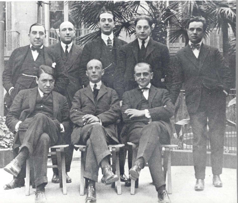 Membres de la Penya del Dr. Borralleras