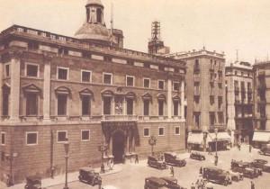 Barcelona. Plaça de Sant Jaume