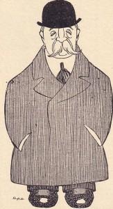 """Dibuix d'Apa al """"Papitu"""" núm. 21, any 2 - 14 d'abril de 1909"""