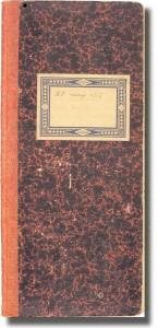 """El segon quadern del """"Quadern gris"""" - 25 maig de 1919"""