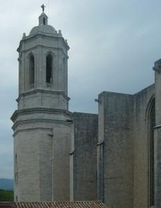Girona. Campanar de la catedral
