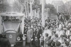 Autobus Barcelona - Horta, 1938