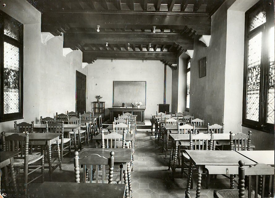 Aula de l'Escola de Bibliotecàries