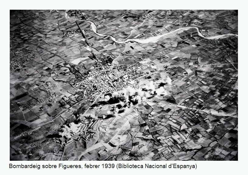 Bombardeig sobre Figueres, febrer 1939