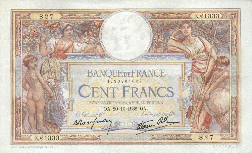 France_100_Francs-1938