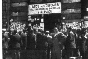 Tolosa de Llenguadoc 1940. Ajut als refugiats