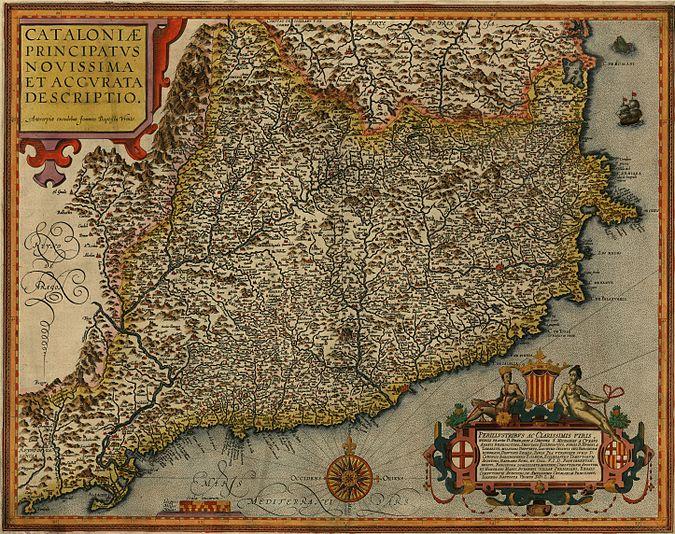 Cataloniae Principatus 1608
