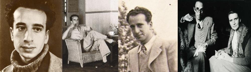 D'esquerra a dreta. A poc més de 20 anys (primera). Inici de l'exili. París, 1940 (passa al segon lloc és la tercera de les actuals). A San Pedro de Macorís, República Dominicana (foto nova, si és aprofitable). Màrius Torres i Mercè Figueres, al sanatori de Puig d'Olena